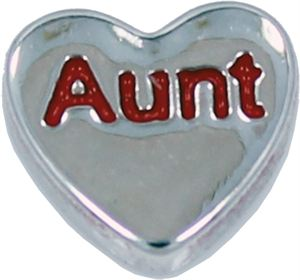 Picture of 'Aunt' Heart Charm
